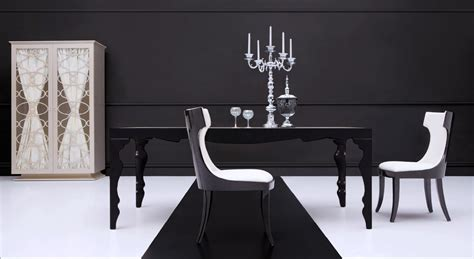 Modern Black Dining Room Tables Black Dining Table Contemporary Dining Table Roma
