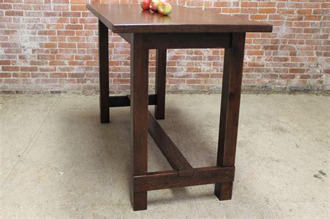 Farm table in bar height ecustomfinishes