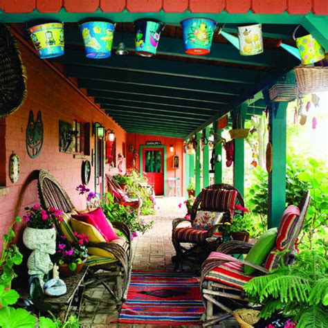 mexican patio decor mexican terrace on