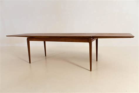 extending coffee table mid century modern extendable coffee table 1960s for sale