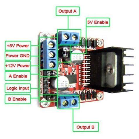 L298n V3 Module Four Dc Stepper Motor Driver Module l298n dual h bridge dc stepper motor driver module controller board for arduino mts1eu cnc