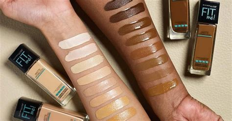 Maybelline Fit Me maybelline fit me foundation adds 16 new shades vogue