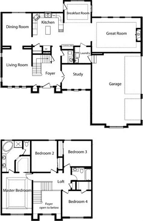2 storey house plan with measurement design design a