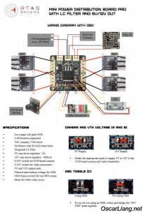 atas mini pdb amp osdoge power distribution boards oscar