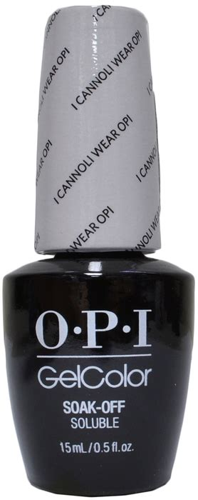 Opi Gel Color I Cannoli Wear Opi opi gelcolor i cannoli wear opi uv led free
