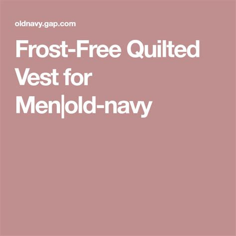 frost  quilted vest  menold navy quilted vest