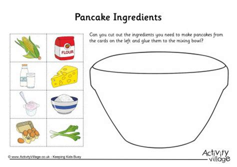 printable pancake recipes pancake ingredients collage