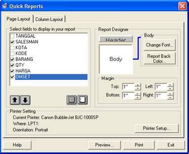pengaturan layout makalah cara membuat qreport kumpulan contoh makalah