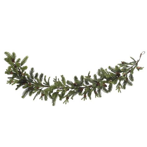 Home gt artificial florals gt holidays gt 60 quot pine amp pinecone garland