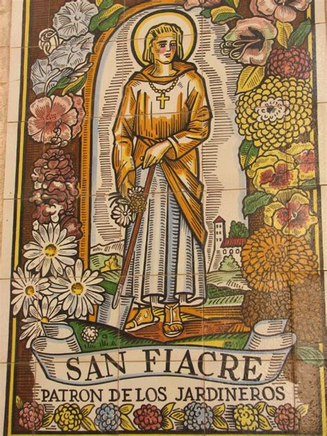 who is st history file fiacre mural seville jpg wikimedia commons