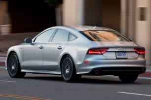 2013 audi a7 rear side view photo 9