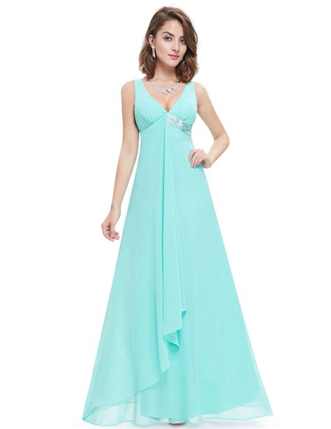Flowy Satin Ribbon Outer baby blue v neck flowy ribbon sequined waist