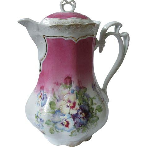 Deutsches Porzellan by German Porcelain Rosenthal Pompadour Selb German Tea