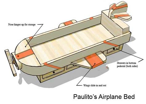 airplane beds airplane bed woodworking blog videos plans how to