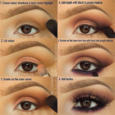 tutorial eyeshadow brown eyes 27 pretty makeup tutorials for brown eyes styles weekly