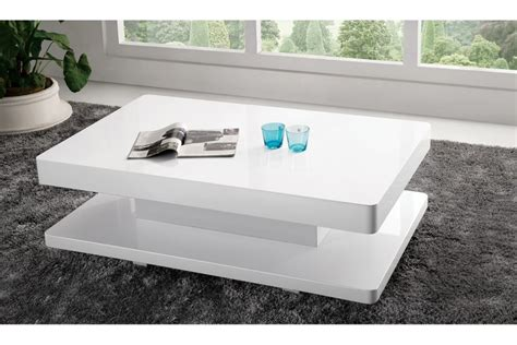 table basse laqua blanc mambobc