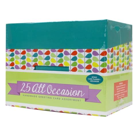 Handmade All Occasion Greeting Card Collection - paper magic 20 ct boxed all occasion card