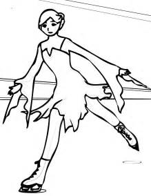 ice skating coloring pages coloring pages to print