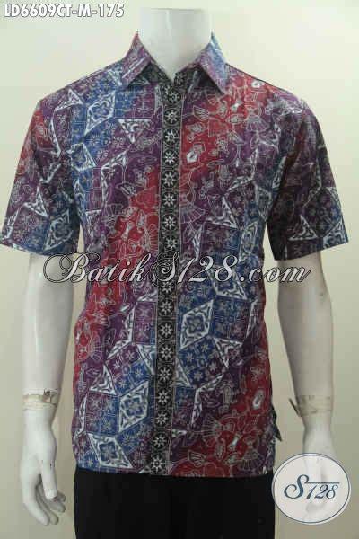 Hem Batik Katun Furing Pj Kemeja Batik Terbaru Batik Kantor M 2 hem batik lengan pendek daleman non furing kemeja batik