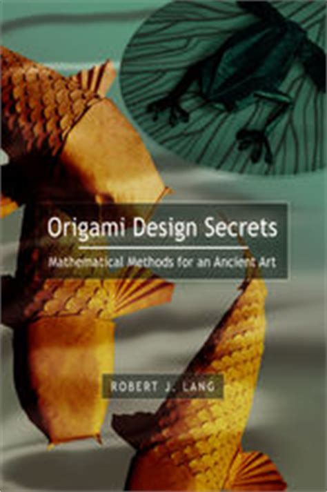Origami Design Secrets - origami design secrets ebook by robert j lang