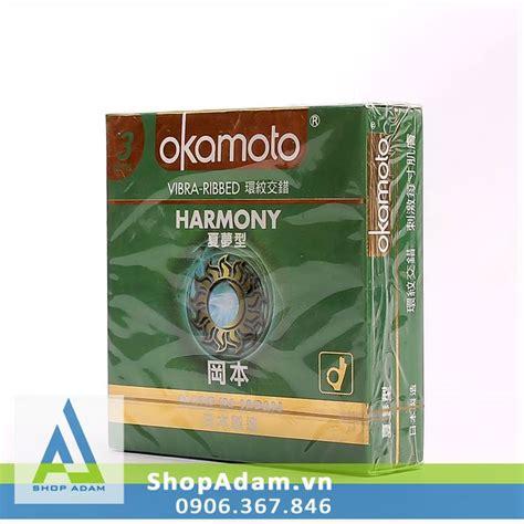 Okamoto Harmony 3 Pcs bao cao su c 243 gai okamoto harmony tại h 224 nội shopadam vn