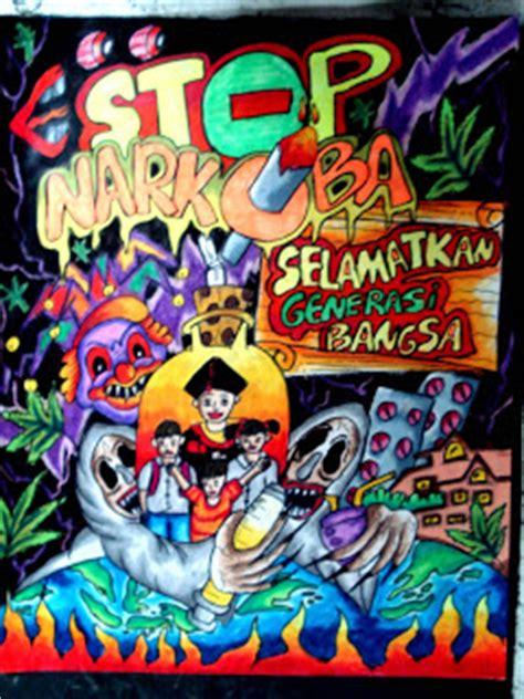 rini 49 gambar poster narkoba