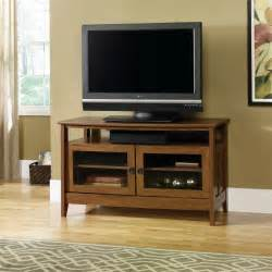 flat screen tv stands sauder august hill flat panel tv stand 409636