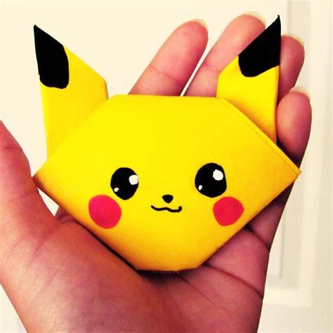 Pikachu Origami - origami pikachu