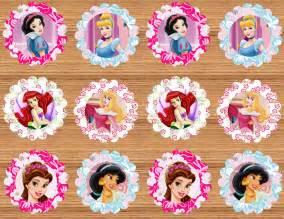 instant download printable disney princess cupcake