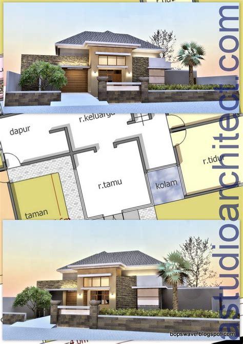 desain rumah probo hindarto a rumah tilan elegan untuk bapak ismed stony