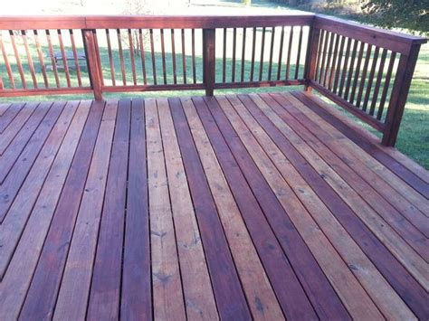 varigated deck stain   cabot australian timber oil