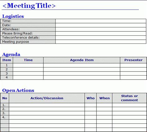 format excel minutes 6 meeting minutes templates excel pdf formats
