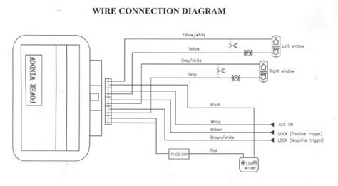 vw t5 electric window wiring diagram efcaviation