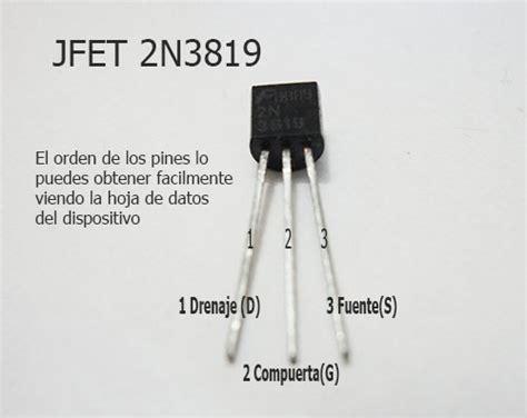 transistor jfet que es jfet conociendo las caracter 237 sticas transistor jfet mrelberni
