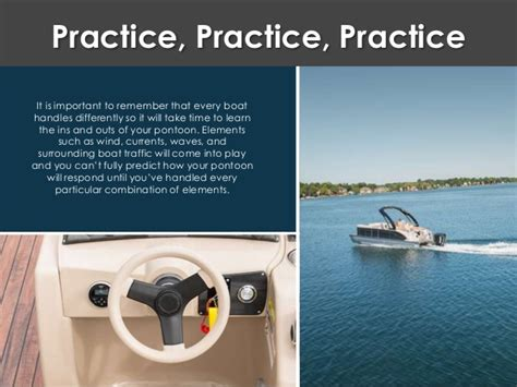 what is recommended when docking your boat tips for docking your pontoon