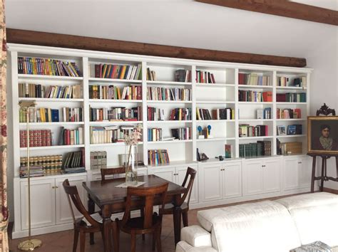 libreria di legno librerie su misura in legno