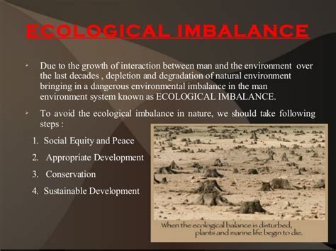 Ecological Imbalance Essay ecological imbalance and their consequences kullabs