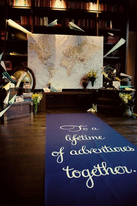Wedding Aisle Runner Singapore by Three Travel Themed Marriage Ideas