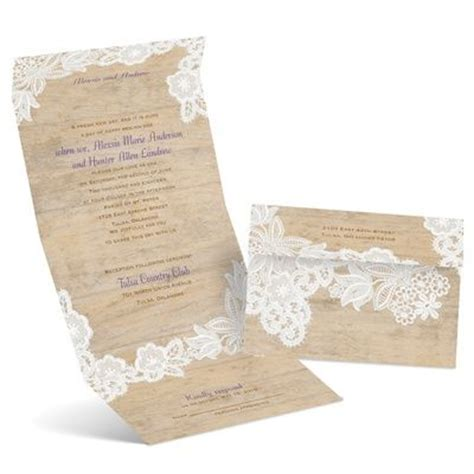 wedding invitation with rsvp attached vintage country seal and send invitation seals
