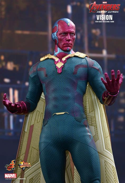 hot toys avengers age  ultron vision