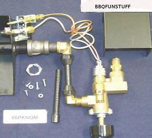 fireplace gas log safety pilot light complete kit new