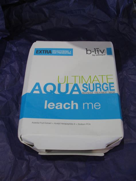 Mask Packs B Liv ultimate aqua surge intensive treatment mask by b liv
