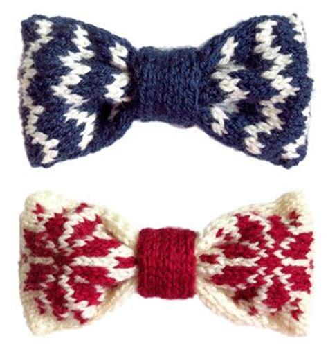 knitted bow pattern free knitted bow some fair isle variations free patterns on