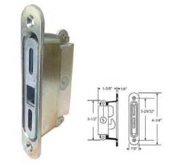 Patio Door Mortise Lock Stb Sliding Glass Patio Door Lock Mortise Type 3 11 16 Quot Holes Ebay