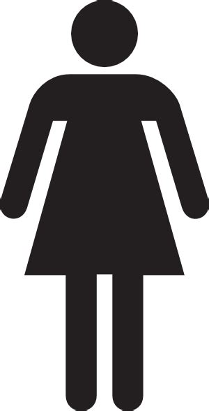 woman bathroom symbol woman figure symbol clip art at clker com vector clip