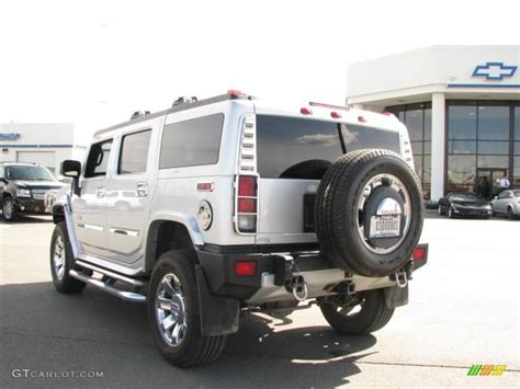 Hummer Limited 2009 limited edition silver hummer h2 suv silver