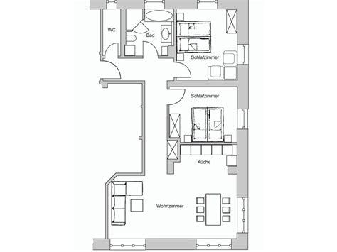 ferienwohnung am kurpark wohnung 2 90 qm garmisch - Grundriss Wohnung 90 Qm