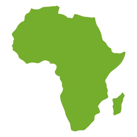 africa map png green africa continental map transparent png svg vector