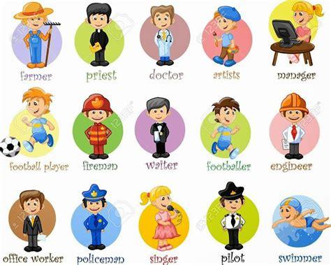 imagenes de profesiones en ingles y español aprendiendo las profesiones en ingles las profesiones