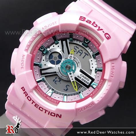 Casio Baby G Ba110ca 4a buy casio baby g lustrous pastel analog digital 100m world